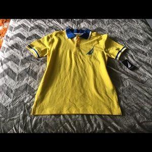 New Nautica Boys Polo Shirt